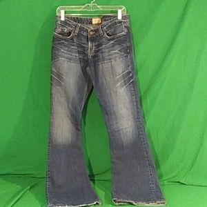 BKE star stretch denim jeans 30x33 1/2